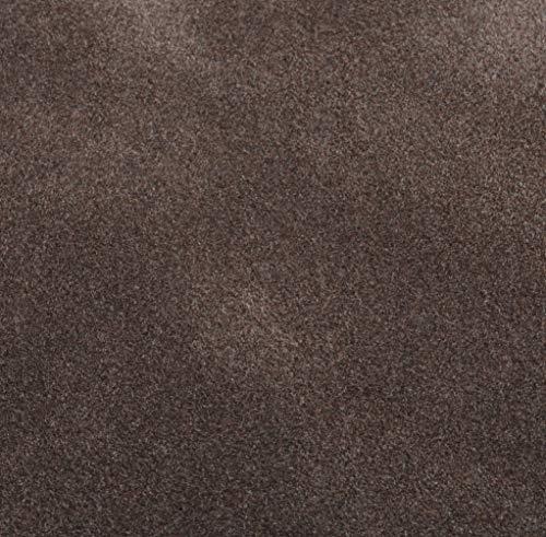 Venilia Samt Optik Schoko Klebefolie Velvet Samtoptik, Veloursfolie, Samtfolie, Dekofolie, Möbelfolie, Tapeten, selbstklebende Folie, PVC, braun, 140µm (Stärke: 0,14 mm), 53192, 45 cm x 1 m