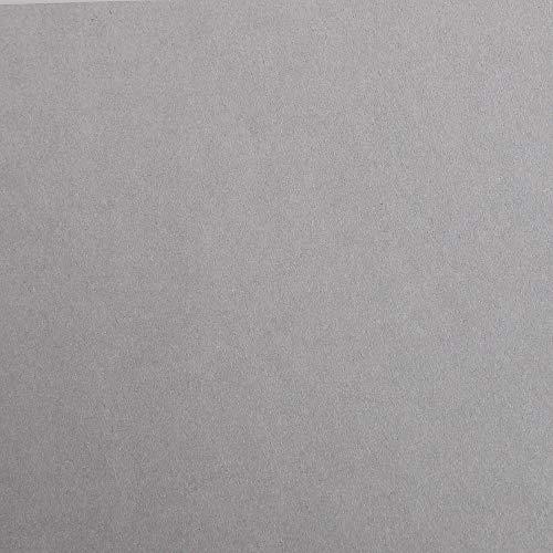 Clairefontaine 48062C Packung (mit 25 Bögen Zeichenpapier Maya, DIN A3, 29,7 x 42 cm, 270g, glatt, ideal für Trockentechnik und Einrahmen) grau