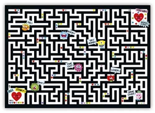 Lali Nr. CL 86 Labyrinth-Postkarte Größe: 10,5x15 cm