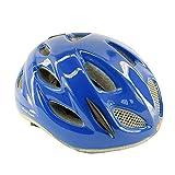 Briko bicicleta casco de bicicleta junior, rollo de carreras ajuste PONY azul brillante 013595