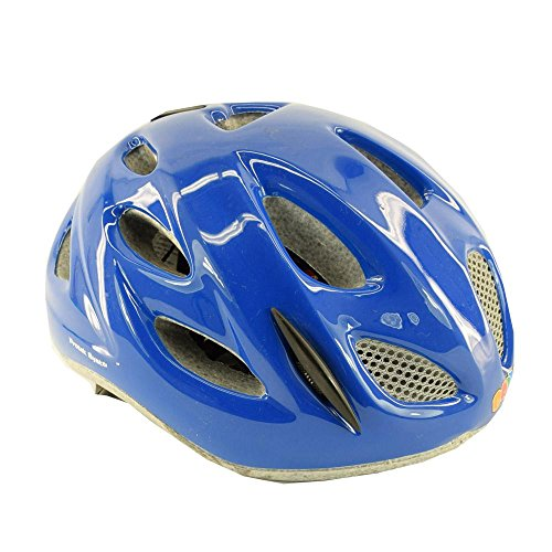 Briko vélo casque vélo junior de rouleau de course PONY ajustement bleu brillant 013595