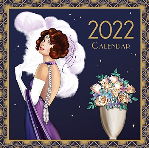Robert Frederick – Claire Coxon Art Deco – 2022 Large Square Calendar