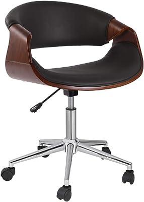 Strange Amazon Com Boraam Mira Desk Chair Brown Kitchen Dining Ncnpc Chair Design For Home Ncnpcorg