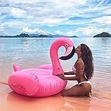 sky tears Bouée Flamant Rose, Gonflable Flamingo Adulte Flottante Gonflable Bouée Piscine