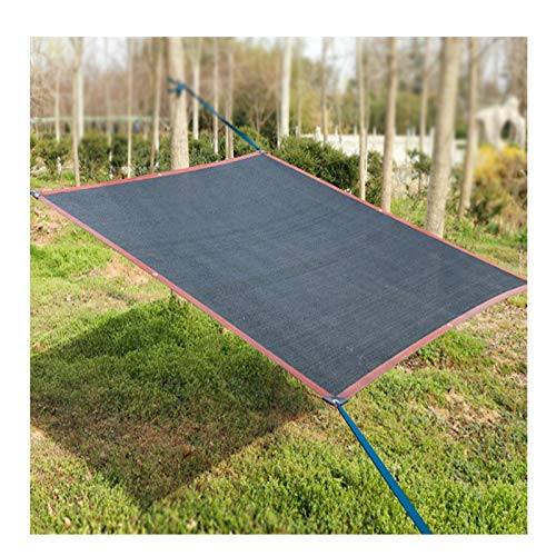 ZXCVBAS Perfect Sunblock Shade Cloth with Grommets Black for Plant Cover Greenhouse Barn Kennel Pool Pergola Or Swimming Pool,8x11m(26 * 36ft)