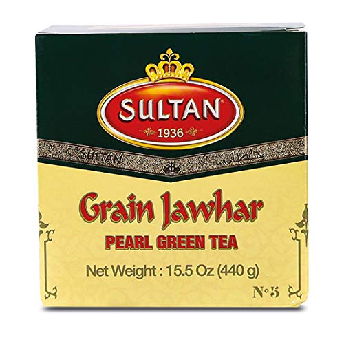 SULTAN TEA Marokkanischer Jawhar Lose Grüner Tee Kräutertees 440g (Einzelpackung - 440g)