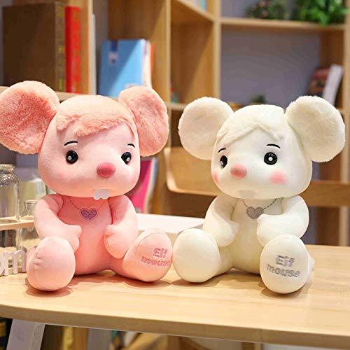 N / A Schöne Plüsch Elfen Maus Spielzeug Kuscheltier Cartoon Ratte Mäuse Baby Kinder Kinder Geburtstag Geschenk Shop Home Decor Geschenke 25cm