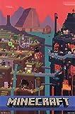 Minecraft Póster World (61cm x 91,5cm)