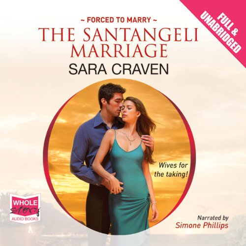 The Santangeli Marriage audiobook cover art