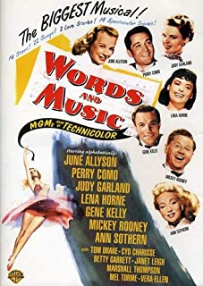 words and music 1948 cast