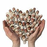 LNIBA Muñeca Reborn Muñeca Niña Hecha a Mano Recién Nacida, Baby Doll Newborn Girl Baby Lifelike, Muñecas de Bebé de La Vida Real para La Colección de Niños, Una Pieza, Entrega aleatoria