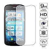 Guran® Protector de Pantalla Vidrio Cristal Templado Para Acer Liquid E2 Duo (4,5 Zoll) Smartphone Film