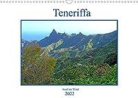 Teneriffa - Insel im Wind (Wandkalender 2022 DIN A3 quer): Teneriffa - schon fast im Bereich der Tropen liegend aber nur wenige Stunden von Spanien entfernt verzaubert die Insel mit ihrer einmaligen Landschaft (Monatskalender, 14 Seiten )