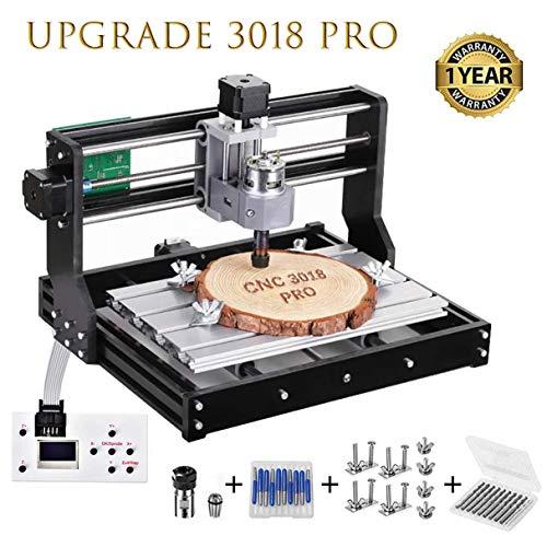 HUKOER 3018 Pro CNC Machine de Gravure laser engraving machine,CNC 3018 Pro...