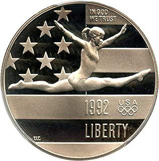 1992 S Olympic Gymnast US Commemorative Proof Half Dollar (1/2) DCAM US Mint