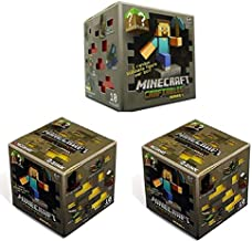 Official Minecraft Craftables Series 1 Figure 3-Pack Set Blind Pack