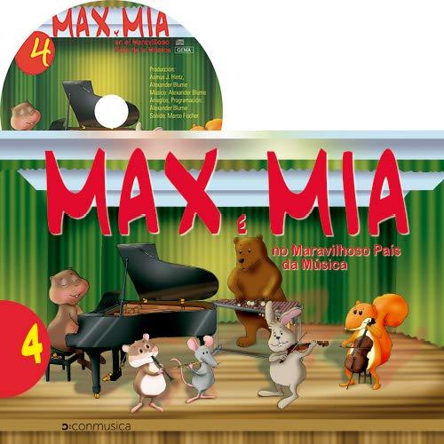 Max e Mia no Maravilhoso País da Música