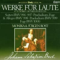Works for Lute by Bach