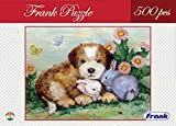 A jigsaw puzzle featuring a puppy and his rabbit friends Measures 46 x 34.5 cm when completed Suitable not only for older children, but also for those who are looking for a challenge A wonderful way to sharpen one's mind and focus A fun activity alon...