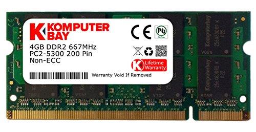 KOMPUTERBAY -  Komputerbay 4GB DDR2