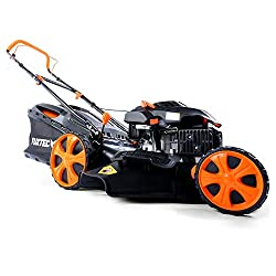 FUXTEC gasoline lawn mower FX-RM2050 with 51 cm GT self-propelled engine Easy Clean 4in1 engine mower mulching