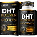 Premium DHT Blocker Hair Loss Supplement - Supports Healthy Hair Growth - Helps Stimulate New Hair Follicle Growth - With High Potency Biotin and Saw Palmetto - For Men And Women - One Month Supply