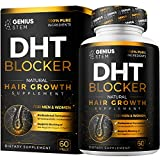 Premium DHT Blocker Hair Loss Supplement - Supports Healthy Hair Growth - Helps Stimulate New Hair...