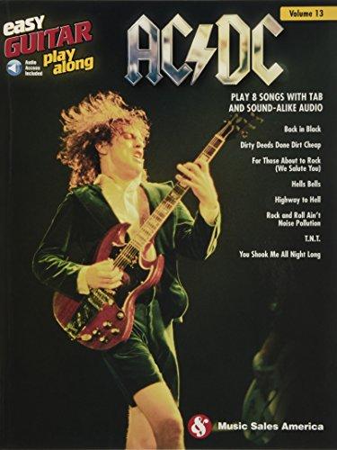 AC/DC: Easy Guitar Play-Along Volume 13