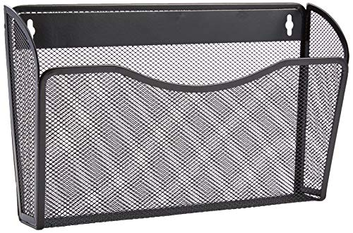 AmazonBasics Mesh Bin Office Wall Folder File