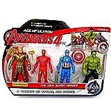Avengers Super Heroes Action Figure Toys Set (Iron Man/ Hulk/Captain America/ Batman) Avengers