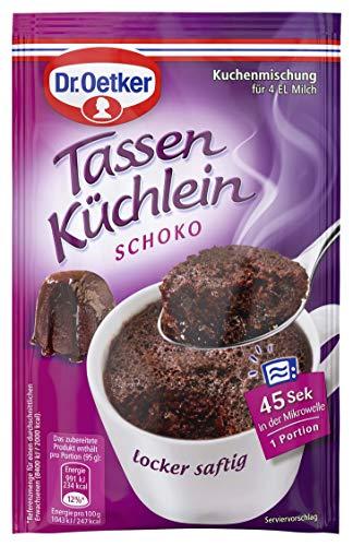 Dr. Oetker Tassenküchlein Schoko, 12er Pack (12 x 55 g)