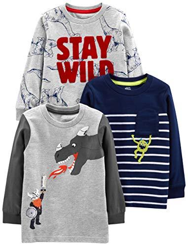 El Mejor Listado de Camisetas de manga larga para Niño - los preferidos. 1