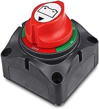 1-2-Both-Off Battery Switch 12V-60V Battery Disconnect Master Cut Shut Off for Marine Boat Car RV ATV Vehicle Heavy Duty Battery Isolator Switch