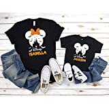 Halloween Family Vacation Trip Shirts, Custom Name Disney Halloween Shirt, Disney Halloween Shirt