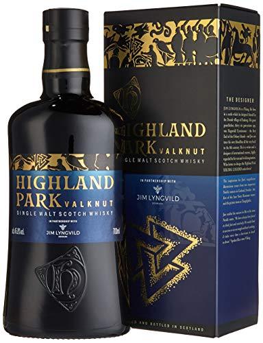 Highland Park Valknut Single Malt Scotch Whisky (1 x 0.7 l) – rauchiger, süßer Geschmack durch Lagerung in Ex-Sherry-Fässern, Teil 2 der Viking Legends Trilogie