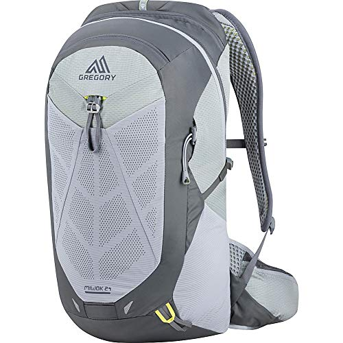 Gregory Mountain Products Miwok 24 Liter Men's Daypack, Graphite Grey, One Size