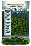 HALDORÁDÓ Pellet Verde Halibut, algas verdes + aroma mejillón, cebo de pesca, pellet, accesorios de pesca de carpa, 800gr, 12-16 mm
