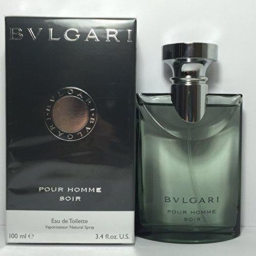 Bvlgari Pour Homme Soir, Profumo Eau de toilette vaporizzatore, 100 ml