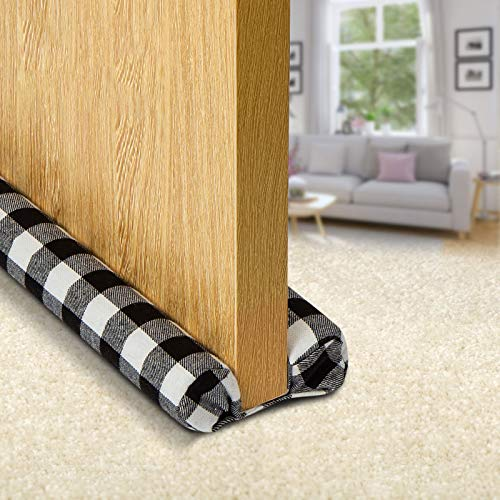 Muove Heavy Duty Door Draft Stopper and Blocker, Sound Proof Draft Guard for Doors and Windows