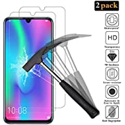 ANEWSIR Compatible with Huawei Honor 10 Lite/Honor 20 Lite Screen Protector, 【2 Pack】[9H Hardness] [Bubble Free] for Huawei Honor 10 Lite/Honor 20 Lite Tempered Glass Screen Protector.