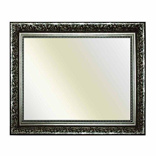 Neumann Bilderrahmen Cadre Baroque 10939, Ornements en Argent ARG, comme Un Miroir, 60x120 cm