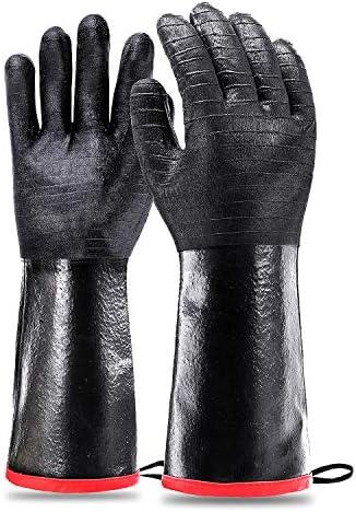 Schwer BBQ Grill Gloves 932 Waterproof Grilling Gloves for Turkey Fryer Baking Oven Neoprene product image