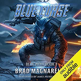 Blue Curse audiobook cover art