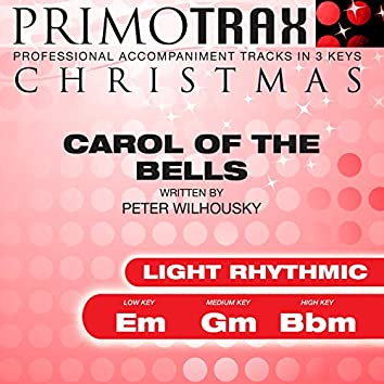 Carol of the Bells (Light Rhythmic) (Christmas Primotrax) (Performance Tracks) - EP
