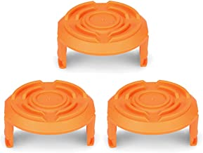 OFPOW Trimmer Replacement Spool Cap Covers Compatible with Worx Trimmer, 3-Pack