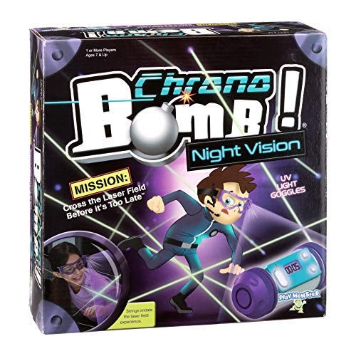 PlayMonster,Chrono Bomb Night Vision - Secret Agent Maze Game - Play During The...