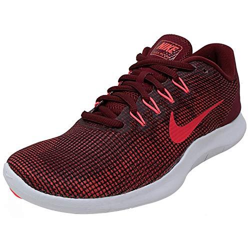 Nike Women's WMNS Flex 2018 Rn Running Shoes, Multicoloured (Team Red/Flash Crimson/Burgundy Ash 600), 4 UK