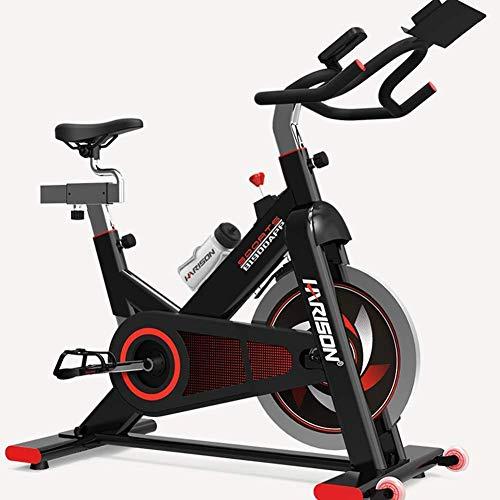 Bicicleta estática de interior con cinturón suave y silencioso, resistencia magnética para entrenamiento cardiovascular en casa y estudio