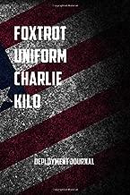 Foxtrot Uniform Charlie Kilo deployment journal: 6x9 Journal christmas gift for under 10 dollars military spouse journal