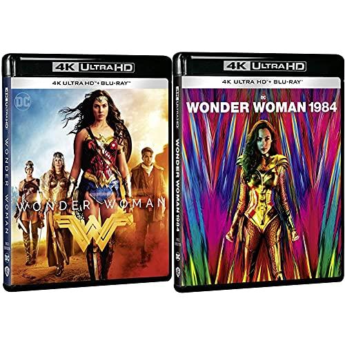 Wonder Woman 4k Uhd [Blu-ray] + Wonder Woman 1984 4k UHD [Blu-ray]